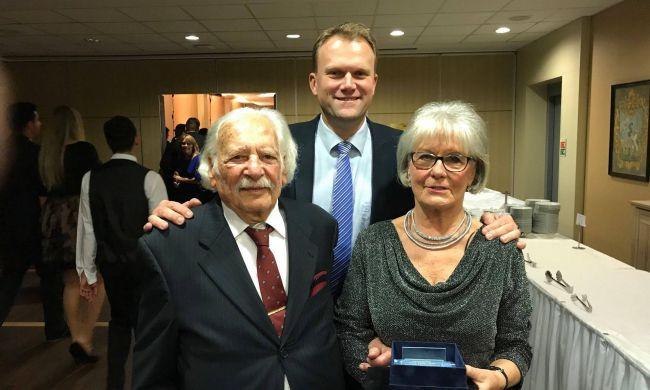 Életműdíjat kapott Dr. Bálint György (Bálint gazda)