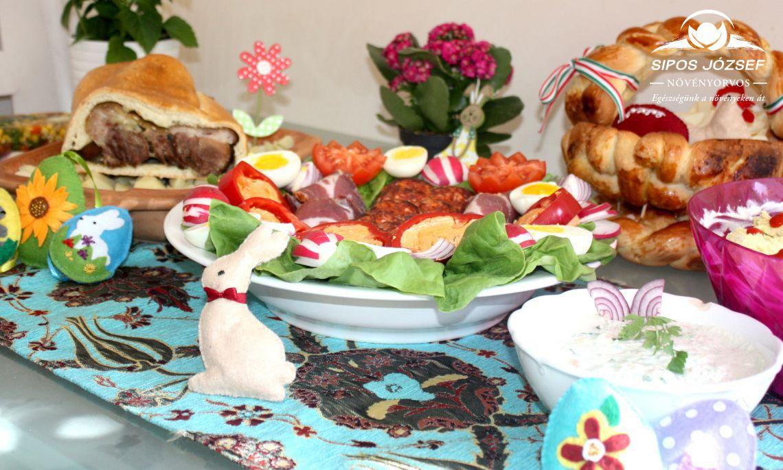 Húsvét ünnepének ízei a vasárnapi ebédünk asztalán