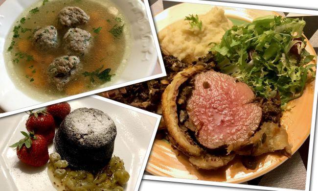 Húsos ízek harmóniája a vasárnapi menüben