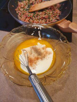 Carbonara spagetti glutén, laktóz és tejmentesen