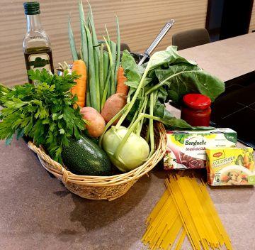 Olasz zöldségleves - Minestrone - Hozzávalók