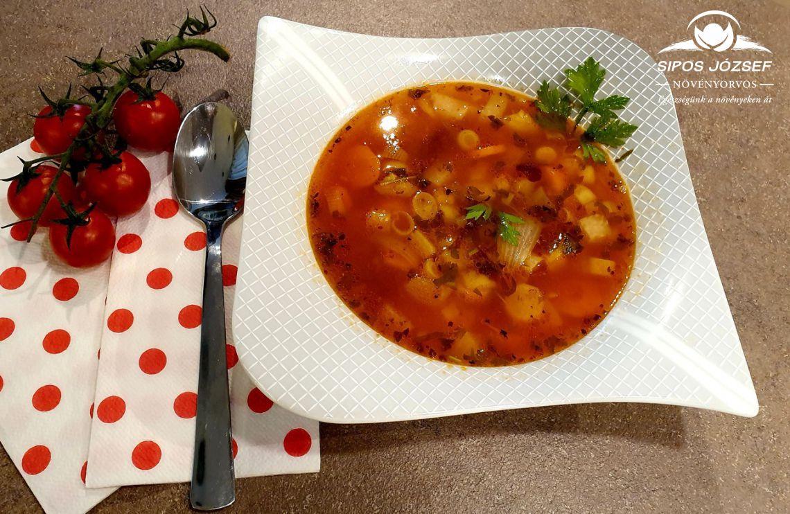 Olasz zöldségleves - Minestrone