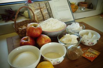 Almás pite - Hozzávalók