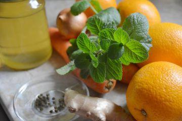 Gyömbéres-narancsos sárgarépaleves - Hozzávalók
