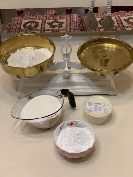 Desszert: Kozák sapka (hólabda) - Elkészítése