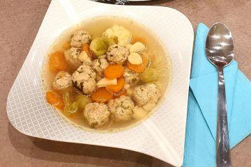 Advent második vasárnapi menü | Ünnepi húsgombóc leves